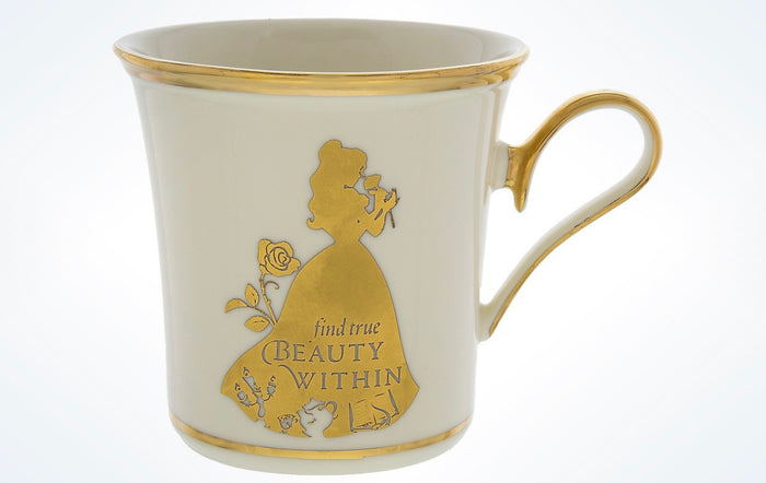 Disney Parks Princess Belle Find True Beauty Within Porcelain Mug Lenox New Box