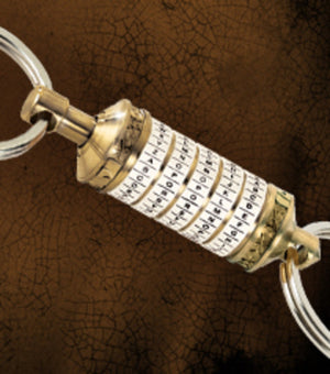 The Da Vinci Code - Cryptex Keychain New