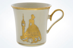 Disney Parks Cinderella Believe in Every Wish Porcelain Mug Lenox New with Box