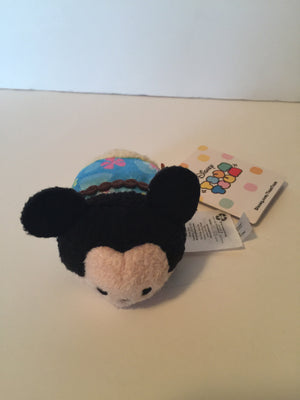 Disney Store Usa Mickey Mouse Hawaii Mini Tsum Plush New with Tags