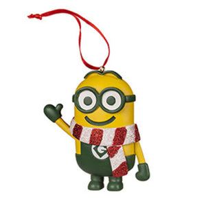 Universal Studios Despicable Me The Minion Ornament With Striped Scarf New with tag