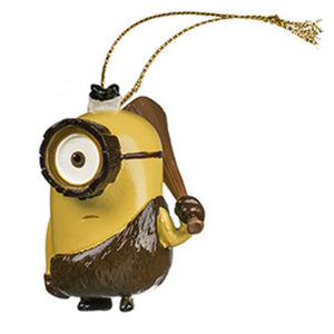 Universal Studios Despicable Me The Minion Crominion Ornament New with tag