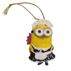 Universal Studios Despicable Me The Minion French Maid Ornament New with tag