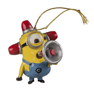 Universal Studios Despicable Me The Minion Fire Alarm Ornament New with tag