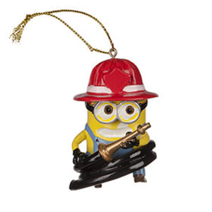 Universal Studios Despicable Me The Minion Firehose Ornament New with tag