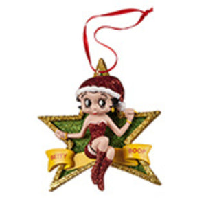 Universal Studios Betty Boop Star Ornament New with tag