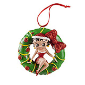 Universal Studios Betty Boop Wreath Ornament New with tag