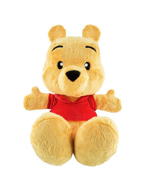 "Disney Parks Winnie The Pooh Big Feet 18"" Plush New with Tag"