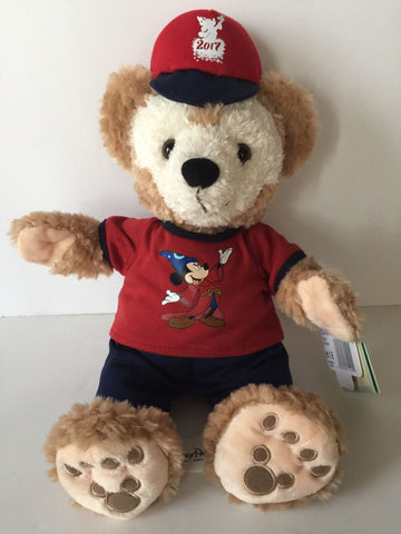 "Disney Parks Duffy Bear 12"" Plush New with tag"