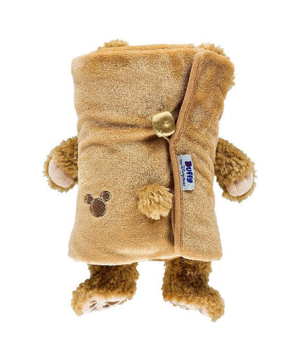 Disney Parks Duffy Bear Plush Blanket New with Tag