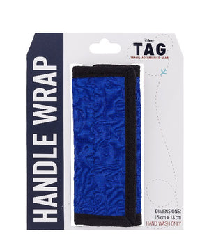 Disney Parks Disney Tag Characters Bag Handle Wrap BlueNew