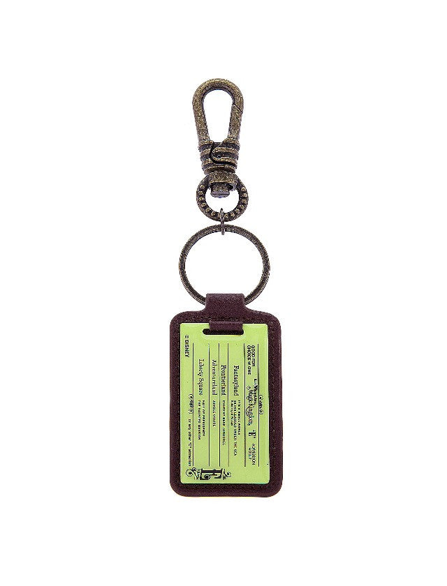 Disney Parks Magic Kingdom E-Ticket Keychain New with Tag