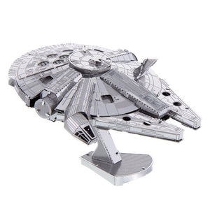 Disney Parks Star Wars Millennium Falcon Metal Model Kit 3D New