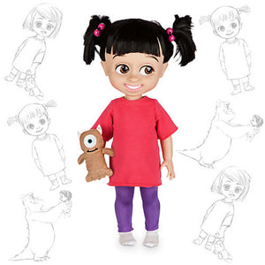 "Disney Store Boo 16"" Doll Animator's Collection New with Box"