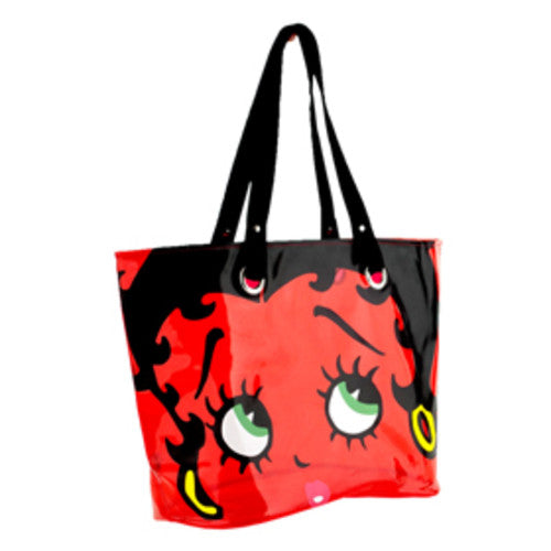 Universal Studios Betty Boop Big Face Clear Tote Bag New with Tag