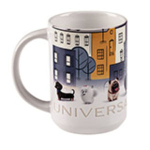 Universal Studios The Secret Life of Pets Etched Ceramic Mug New