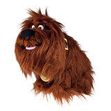 Universal Studios The Secret Life of Pets Duke Plush New with Tag
