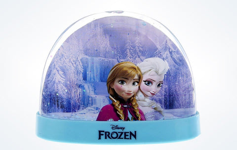 Disney Parks Frozen Elsa Anna Olaf Plastic Snow globe Water Dome New