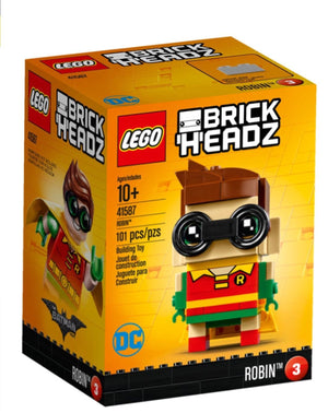 Lego 41587 BrickHeadz Robin The LEGO Batman Movie 101 Pieces New Box Sealed