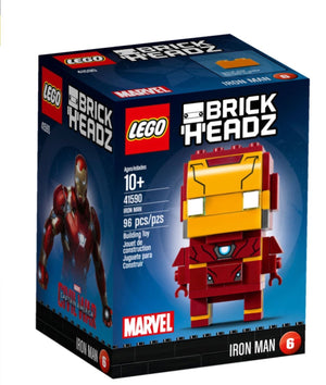 Lego 41590 BrickHeadz Iron Man Marvel 99 Pieces New Box Sealed