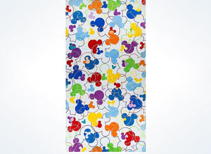 Disney Parks Mickey Icons Colors Beach Towel New with Tags