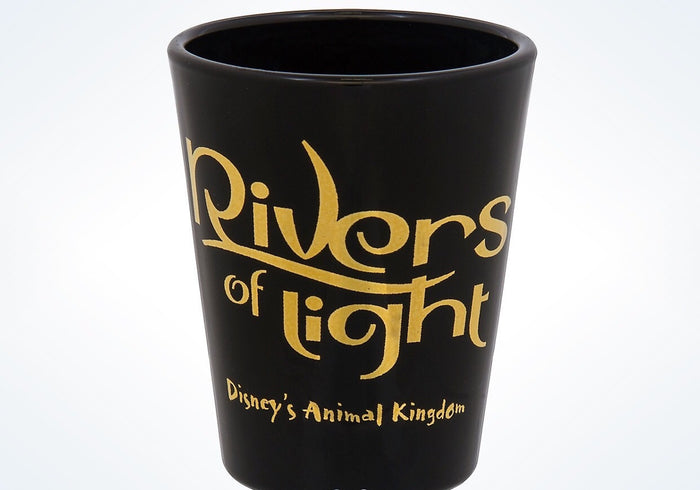 Disney Parks Animal kingdom Rivers of Lights Mini Glass New with Tags