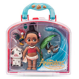 Disney Animator's Collection Moana Mini Doll Play Set New with Case