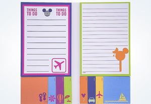 Disney Parks TAG Collection Mickey Character Sticky Note Set New