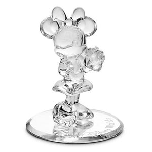 Disney Parks Minnie Mouse Glass Figurine by Arribas Brothers New with Box