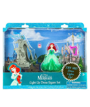 Disney Parks Ariel Light-Up Dress Playset New with Box