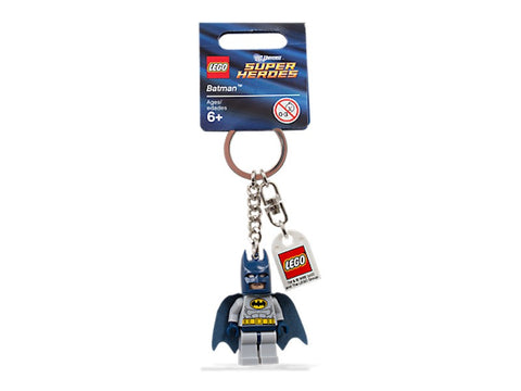 Lego DC Comics Super Heroes Batman Key Chain New with Tags