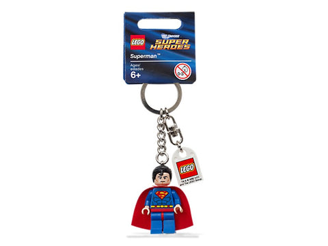 Lego 853430 DC Universe Super Heroes Superman Key Chain New with Tags