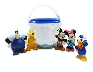 Disney Store Mickey Mouse Donald Duck Minne Pluto Pete Bath Set New