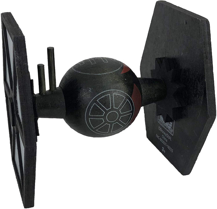 Disney Parks Star Wars Galaxy's Edge Wooden Tie Fighter Toy Vehicle New