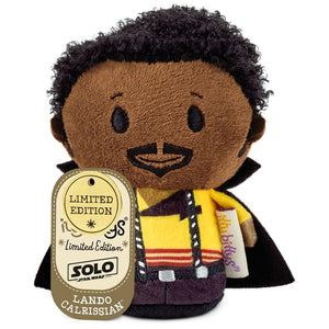 Hallmark Solo A Star Wars Story Lando Calrissian Itty Bittys Plush New with Tag