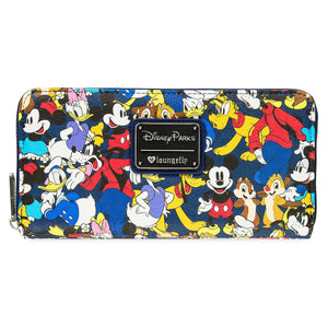 Disney Mickey Mouse & Friends Wallet by Loungefly New with Tags