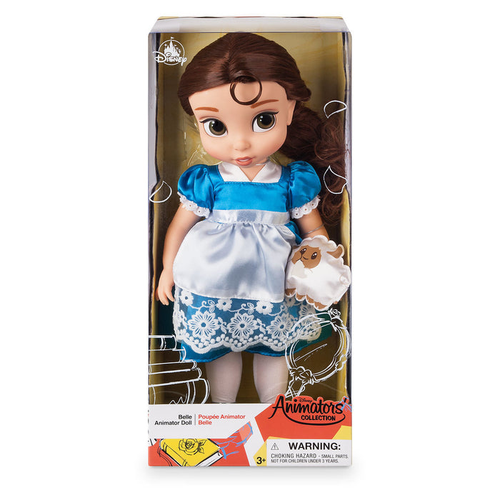 Disney 2019 Animators' Collection Beauty and the Beast Belle Lamb Doll New w Box