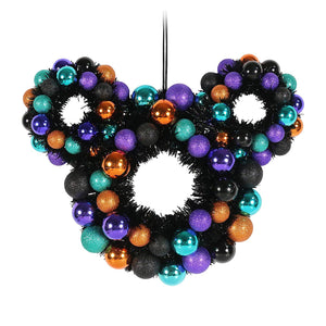 Disney Mickey Mouse Icon Halloween Wreath New with Tags