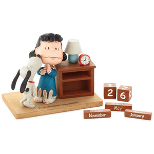 Hallmark Peanuts Snoopy and Lucy Perpetual Calendar New