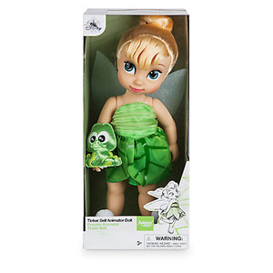 Disney Store Animator Doll Tinker Bell with Baby Croc New with Box