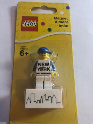 Lego New York Magnet New with Card