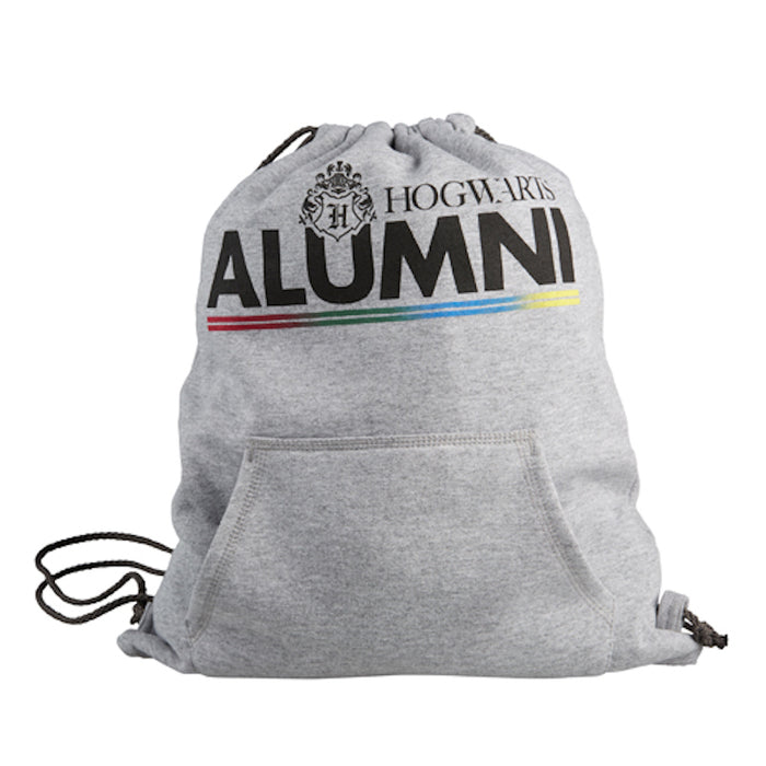 Universal Studios Harry Potter Hogwarts Alumni Drawstring Backpack New with Tags