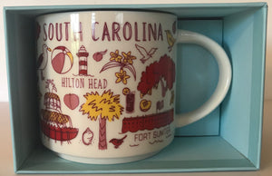 Starbucks Been There Series Collection South Carolina Coffee Mug New With Box