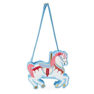 Disney Parks King Arthur Carrousel Horse Crossbody Bag New with Tags