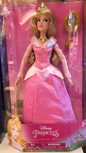 Disney Parks Aurora Sleeping Beauty Doll with Brush New Edition New with Box