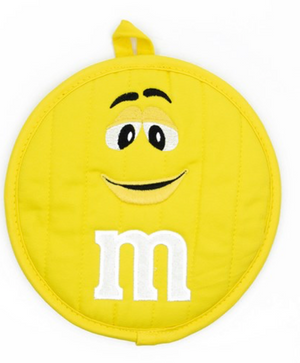 M&M's World Yellow Character Pot Holder New with Tag