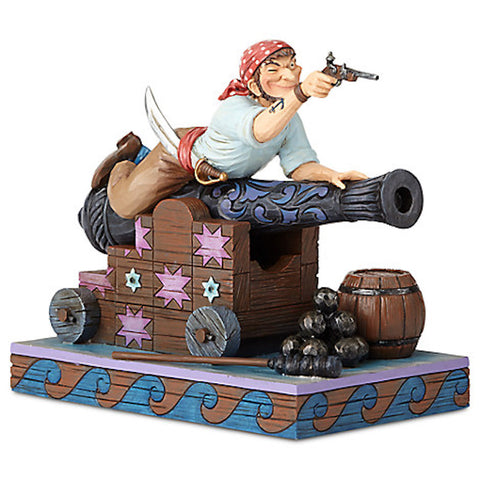 Disney Jim Shore Figure Pirates of the Caribbean Pirate on the Cannon New Box
