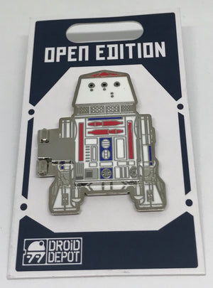 Disney Parks Star Wars Galaxy Edge Droid Depot R5 Pin New with Card