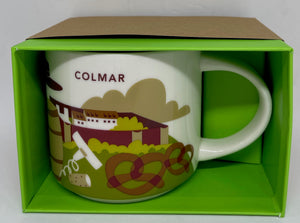 Starbucks You Are Here Collection Colmar France Ceramic Coffee Mug New Box