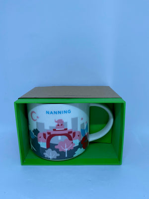 Starbucks You Are Here Collection Nanning China Ceramic Coffee Mug New with Box